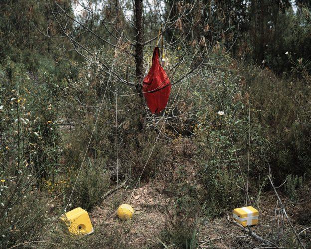 destroços do balão em terra | 100x80cm | 3 + 1 P.A.